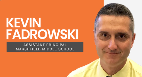 Kevin Fadrowski Assistant Principal Marshfield Middle School