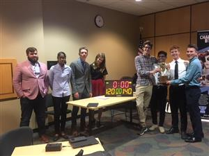 MHS Teams Compete in Finance & Investment Challenge Bowl