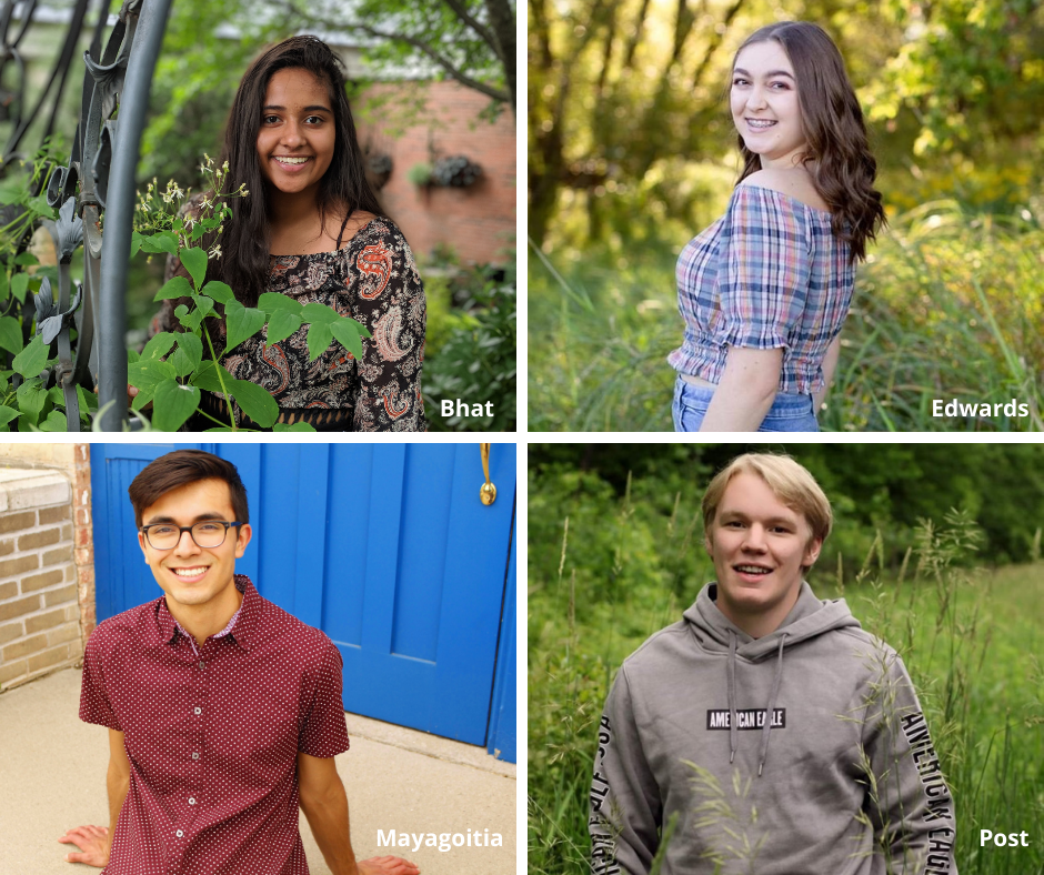 Four MHS Seniors Named 2021 National Merit Scholarship Semifinalists