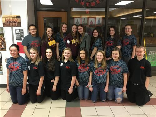 FCCLA Excels at Regional Competition