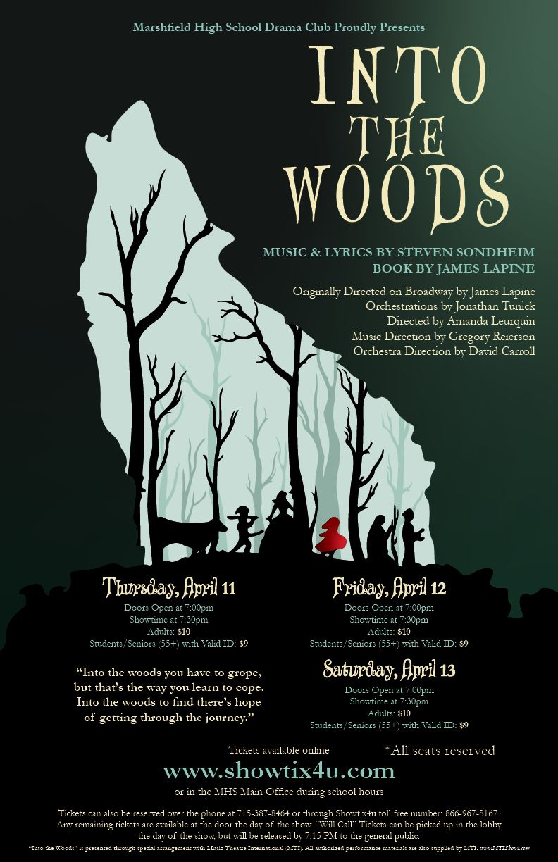 Spring Musical - INTO THE WOODS