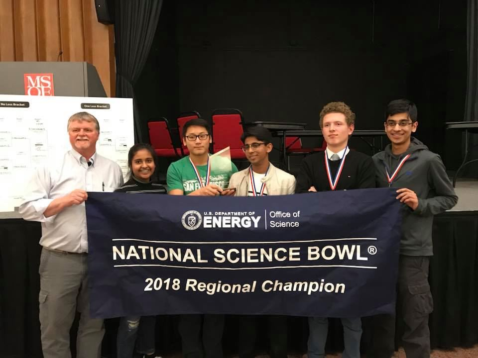 Science Bowl Team Wins Regional Competition