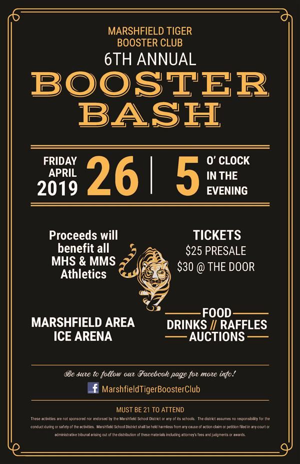 6th Annual Booster Bash