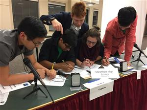 Regional Science Bowl Team